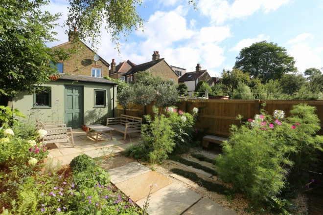 Garden landscaping in Twickenham